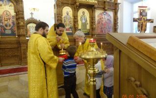 Неделя 29-я по Пятидесятнице, пред Рождеством Христовым, святых отец. Предпразднство Рождества Христова.